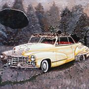 Windows Series, Cadillac Oil on Canvas   16 x 20.jpg